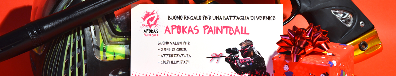 BUONI REGALO PAINTBALL