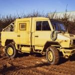 noleggio furgone militare